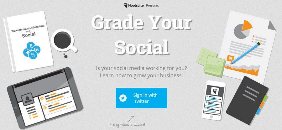 Hootsuite Social Grader: Eine einfache Twitter-Analyse