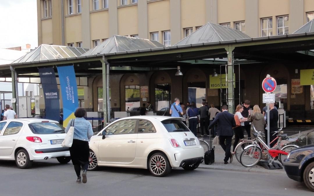 republica 2015 Eingangsbereich Straße